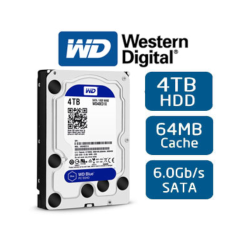 Ổ cứng gắn trong hdd western blue 4tb sata 3 - wd40ezrz