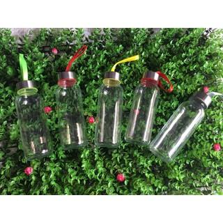 1 Bộ 05 chai - Chai thủy tinh tròn 300ml - 500ml - Thích hợp cho Shop thức uống - CHAITHUYTINH thumbnail