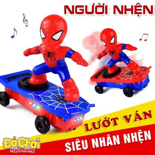 Đồ chơi trẻ em người nhện lướt ván - người nhện spiderman xoay 360 độ phát nhạc đồchơitrẻem - 11930433 , 19493665 , 15_19493665 , 120000 , Do-choi-tre-em-nguoi-nhen-luot-van-nguoi-nhen-spiderman-xoay-360-do-phat-nhac-dochoitreem-15_19493665 , sendo.vn , Đồ chơi trẻ em người nhện lướt ván - người nhện spiderman xoay 360 độ phát nhạc đồchơitrẻe