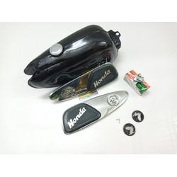 bình xăng xe 67 full nẹp khóa xăng nắp xăng tặng bao tay xe máy