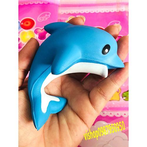 Squishy cá heo xanh đẹp thaolinh950