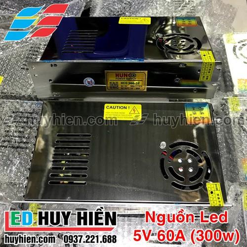 Nguồn led 5V 60A trong nhà có quạt _ Nguồn 5V 300w trong nhà
