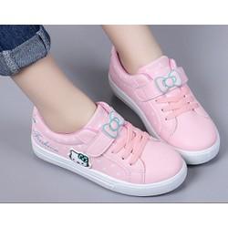 Giày thể thao Hello Kitti phong cách hàn quốc bé gái từ 4 – 13 tuổi – TT05H