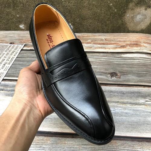 Giày lười nam da bò thật cao cấp bảo hành da 1 năm