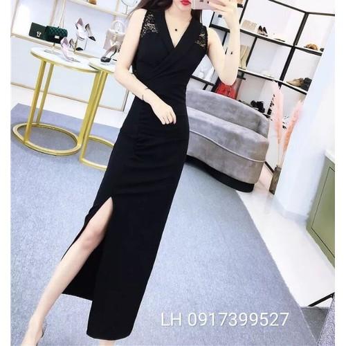 Đầm trung niên đầm body đen cổ vest - 11942083 , 19510553 , 15_19510553 , 199000 , Dam-trung-nien-dam-body-den-co-vest-15_19510553 , sendo.vn , Đầm trung niên đầm body đen cổ vest