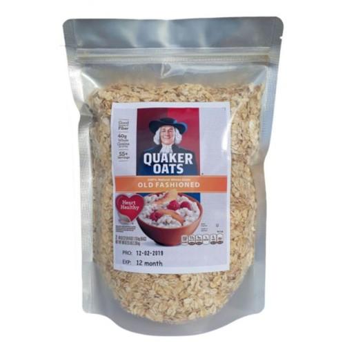 3kg yến mạch quaker oats - loại cán mỏng