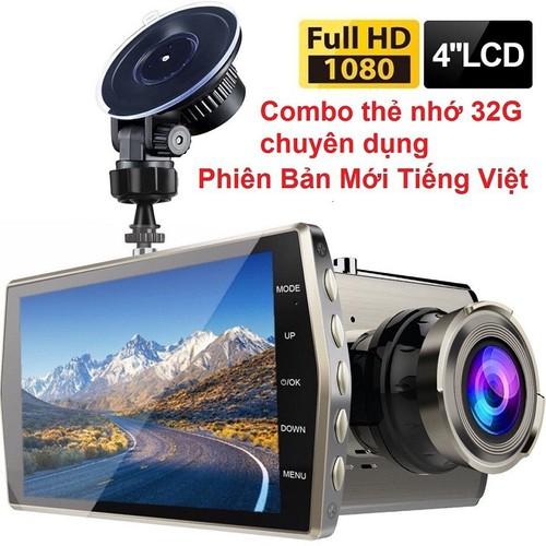 Máy quay hành trình -  camera hành trình ô tô v3 hỗ trợ quay đêm siêu nét + thẻ 32g chuyên dụng