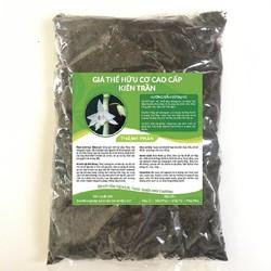 Giá thể hữu cơ cao cấp Kiên Trần chuyên dùng làm giá thể trồng lan túi 500g