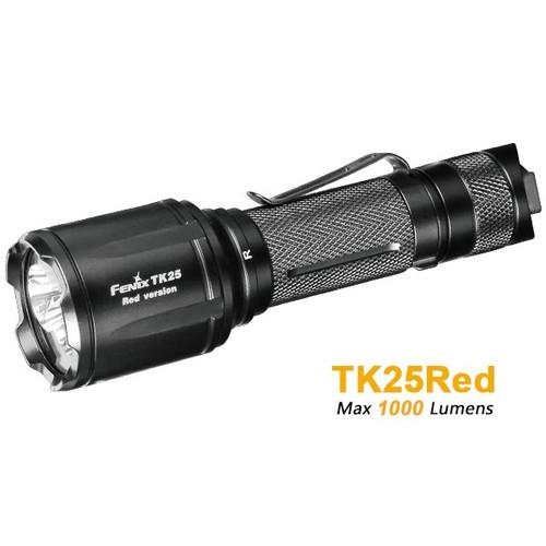 Đèn pin fenix - tk25 red - 1000 lumens