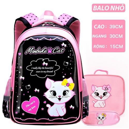 Balo trẻ em cho bé gái in hình mèo con siêu dễ thương - combo 3 món balo + túi đeo chéo + túi đựng viết - 11934107 , 19498978 , 15_19498978 , 400000 , Balo-tre-em-cho-be-gai-in-hinh-meo-con-sieu-de-thuong-combo-3-mon-balo-tui-deo-cheo-tui-dung-viet-15_19498978 , sendo.vn , Balo trẻ em cho bé gái in hình mèo con siêu dễ thương - combo 3 món balo + túi đeo