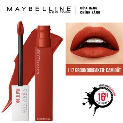 Son Kem Lì Maybelline Super Stay Matte Ink 5ml - Màu 117 Groundbreaker