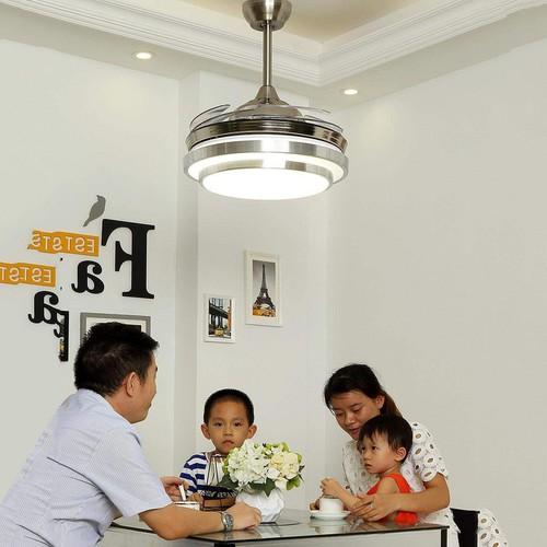 Quạt trần đèn cánh cụp xòe trang trí phòng khách hiện đại đẹp giá rẻ - 11939723 , 19507237 , 15_19507237 , 3650000 , Quat-tran-den-canh-cup-xoe-trang-tri-phong-khach-hien-dai-dep-gia-re-15_19507237 , sendo.vn , Quạt trần đèn cánh cụp xòe trang trí phòng khách hiện đại đẹp giá rẻ