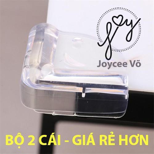 Combo 2 cái nắp dán góc bàn, chống góc nhọn, giảm chấn khi va đập, bảo vệ an toàn cho trẻ jv600
