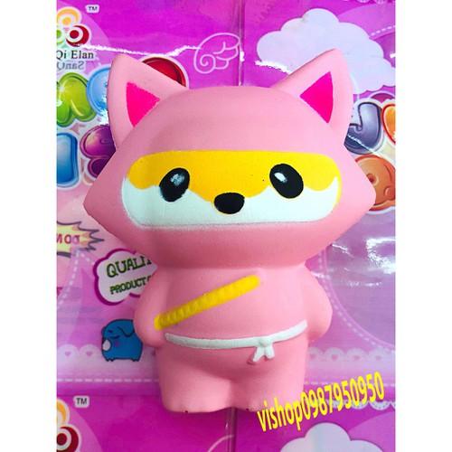 Squishy mèo njnja hồng tai nhọn thaolinh950