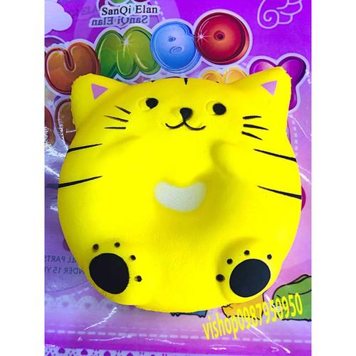 Squishy bánh mèo tròn thaolinh950