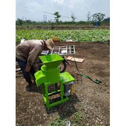 Máy băm chuối, xay nghiền đa năng OKASU dùng băm chuối, rau và các loại củ
