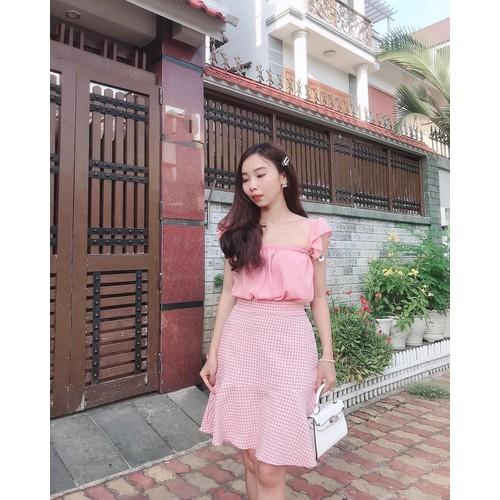 Set áo váy cát hàn màu hồng thanh lịch - 11934290 , 19499201 , 15_19499201 , 105000 , Set-ao-vay-cat-han-mau-hong-thanh-lich-15_19499201 , sendo.vn , Set áo váy cát hàn màu hồng thanh lịch
