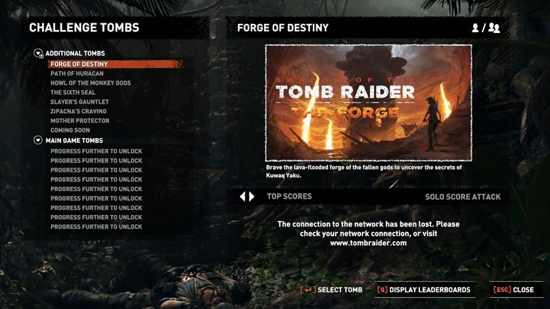 Game PC: Shadow of The Tomb Raider - The Path home new update 24 - 06 - 2019