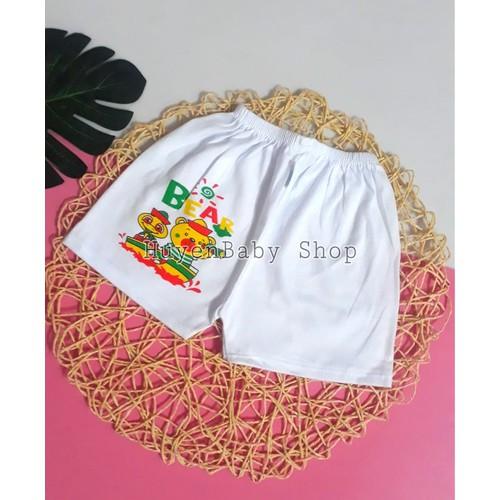 Quần đùi sơ sinh màu trắng in hình bosini cho bé từ sơ sinh đến 11,5kg - 11929684 , 19492273 , 15_19492273 , 20000 , Quan-dui-so-sinh-mau-trang-in-hinh-bosini-cho-be-tu-so-sinh-den-115kg-15_19492273 , sendo.vn , Quần đùi sơ sinh màu trắng in hình bosini cho bé từ sơ sinh đến 11,5kg