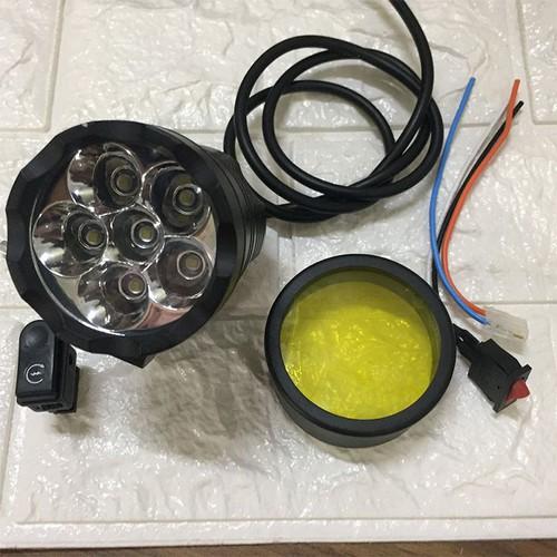 Đèn led l6x tặng full phụ kiện công tắc - đèn led l6x tặng full phụ kiện công tắc