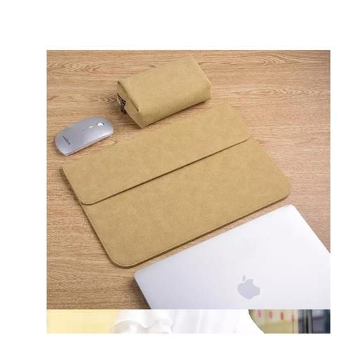 Bao da, túi da, cặp da chống sốc cho macbook, laptop, surface kèm ví đựng phụ kiện - 11936772 , 19502539 , 15_19502539 , 400000 , Bao-da-tui-da-cap-da-chong-soc-cho-macbook-laptop-surface-kem-vi-dung-phu-kien-15_19502539 , sendo.vn , Bao da, túi da, cặp da chống sốc cho macbook, laptop, surface kèm ví đựng phụ kiện