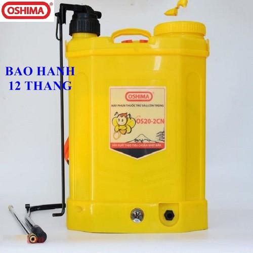 Bình xịt điện phun thuốc trừ sâu hỗ trợ bơm tay oshima os20-2cn, máy bơm thuốc khử trùng chạy acquy, bình xịt điện tưới cây - 11931228 , 19494874 , 15_19494874 , 1450000 , Binh-xit-dien-phun-thuoc-tru-sau-ho-tro-bom-tay-oshima-os20-2cn-may-bom-thuoc-khu-trung-chay-acquy-binh-xit-dien-tuoi-cay-15_19494874 , sendo.vn , Bình xịt điện phun thuốc trừ sâu hỗ trợ bơm tay oshima os