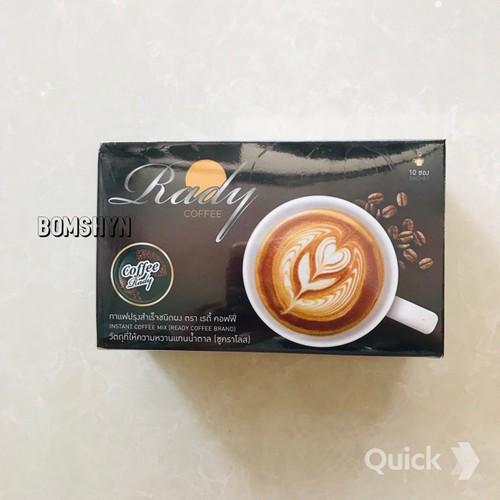 CÀ PHÊ RADY COFFEE HỘP 10 GÓI THÁI LAN