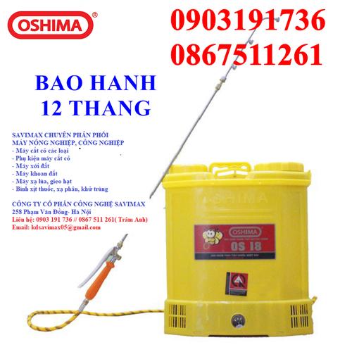 Bình xịt thuốc diệt côn trùng, máy xịt thuốc trừ sâu Oshima OS 18 chính hãng giá tốt. - 10593061 , 19504913 , 15_19504913 , 1112000 , Binh-xit-thuoc-diet-con-trung-may-xit-thuoc-tru-sau-Oshima-OS-18-chinh-hang-gia-tot.-15_19504913 , sendo.vn , Bình xịt thuốc diệt côn trùng, máy xịt thuốc trừ sâu Oshima OS 18 chính hãng giá tốt.