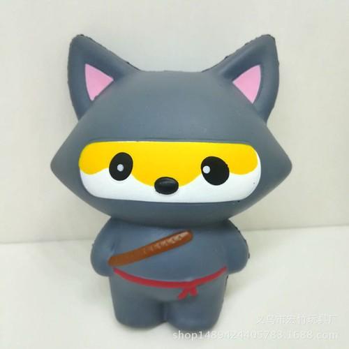 Squishy mèo njnja xám tai nhọn thaolinh950