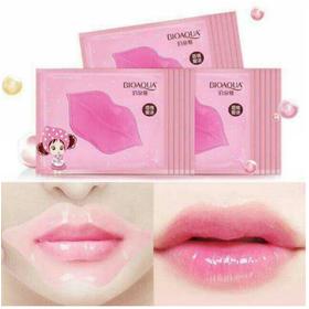 Combo 10 mặt nạ môi Bioaqua Collagen Nourish Lips Membrane Mask - Mặt nạ môi Bioaqua