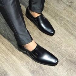 [BẢO HÀNH 1 NĂM] Giày lười nam da bò cao cấp , đế cao su , khâu chắc chắn, có link video sản phẩm