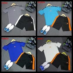 [MUA 2 BỘ ĐỂ ĐƯỢC MIỄN SHIP] Bộ quần áo thể thao nam nữ quần phối sọc