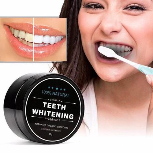 Bột đánh răng hoạt tính than tre teeth whitening 30gr, bột làm trắng răng, kem đánh răng ttb-br01 - 11950406 , 19523693 , 15_19523693 , 55000 , Bot-danh-rang-hoat-tinh-than-tre-teeth-whitening-30gr-bot-lam-trang-rang-kem-danh-rang-ttb-br01-15_19523693 , sendo.vn , Bột đánh răng hoạt tính than tre teeth whitening 30gr, bột làm trắng răng, kem đánh r