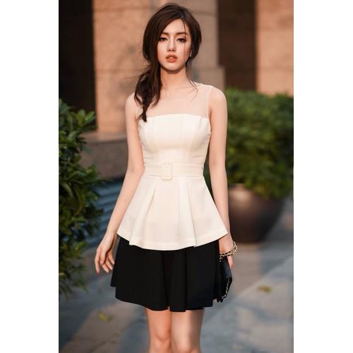 Set áo váy kiểu áo peplum và chân váy xòe - 11956679 , 19533096 , 15_19533096 , 440000 , Set-ao-vay-kieu-ao-peplum-va-chan-vay-xoe-15_19533096 , sendo.vn , Set áo váy kiểu áo peplum và chân váy xòe