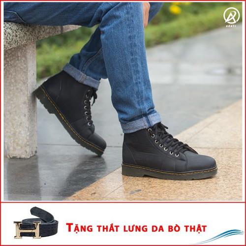 Giày dr nam cao cổ khâu đế cực chất +tl+m89-lc