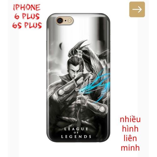 Ốp Lưng iPhone 6 Plus 6s Plus Nhiều Hình Tướng Liên Minh Huyền Thoại