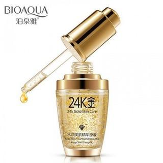Serum vàng 24k dưỡng ẩm trắng da Bioaqua - BHB060 thumbnail