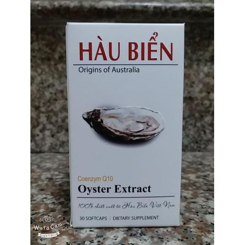 Hàu biển oyster extract bổ thận tráng dương lọ 30v công nghệ đức