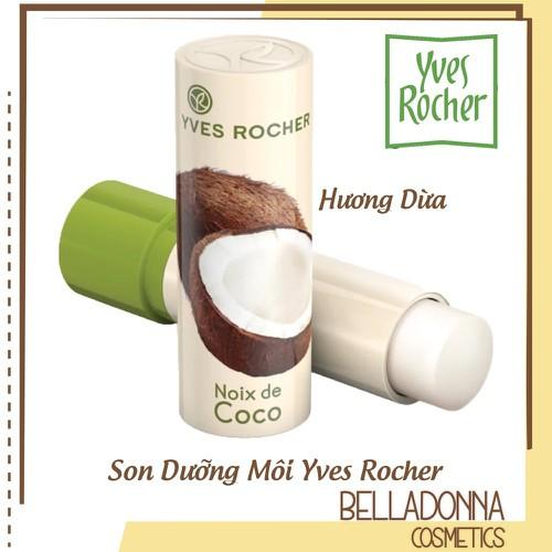 Son dưỡng môi chiết xuất dừa yves rocher coconut lip balm 4.8g