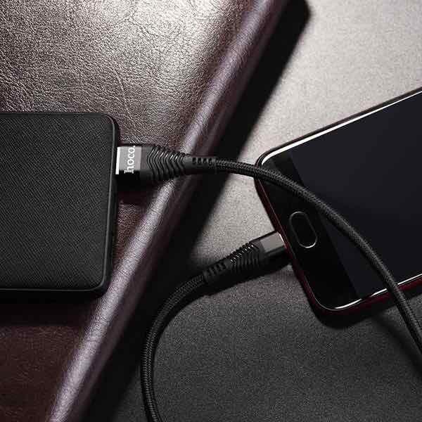 Cáp Sạc Siêu Nhanh 4A Hoco Micro USB Chính Hãng dành cho Android 2