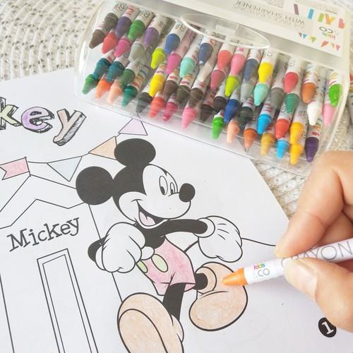Thumbnail of Hộp bút màu 64 cây cho bé tập vẽ