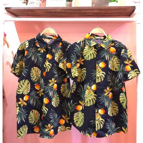 Áo sơ mi hoa lá cây áo hawaii đi biển - 19178130 , 19529402 , 15_19529402 , 99000 , Ao-so-mi-hoa-la-cay-ao-hawaii-di-bien-15_19529402 , sendo.vn , Áo sơ mi hoa lá cây áo hawaii đi biển