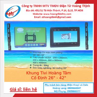 Khung Tivi Led Bản Hoàng Tâm Cố Định 26in đến 42in - LEDHT2642 thumbnail