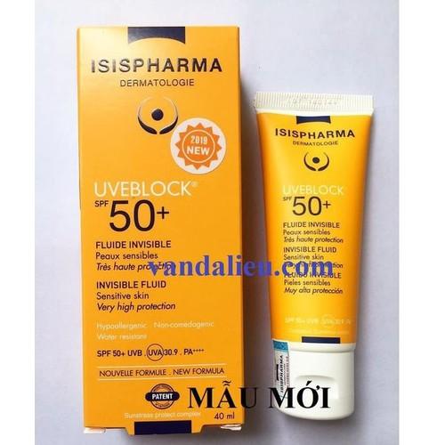 Isis pharma uveblock spf 50 invisible fluid 40ml kem chống nắng dành cho da nhạy cảm màu sáng - 11958364 , 19535223 , 15_19535223 , 485000 , Isis-pharma-uveblock-spf-50-invisible-fluid-40ml-kem-chong-nang-danh-cho-da-nhay-cam-mau-sang-15_19535223 , sendo.vn , Isis pharma uveblock spf 50 invisible fluid 40ml kem chống nắng dành cho da nhạy cảm m
