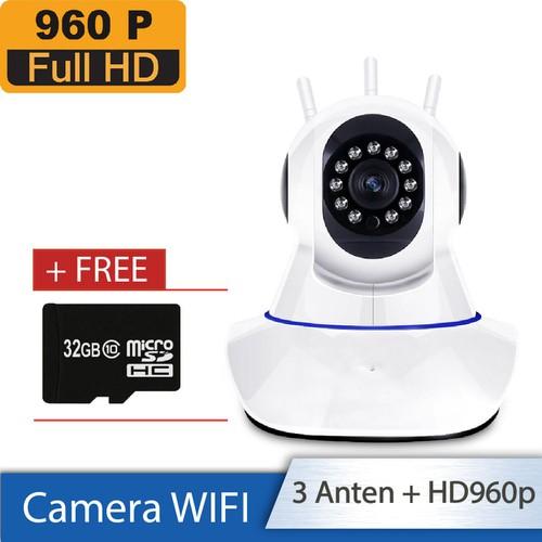 [Combo chuẩn] camera không dây ip wifi - quay 360 độ - chất lượng hd960p - 3 anten + thẻ nhớ 32gb - 11966136 , 19547200 , 15_19547200 , 450000 , Combo-chuan-camera-khong-day-ip-wifi-quay-360-do-chat-luong-hd960p-3-anten-the-nho-32gb-15_19547200 , sendo.vn , [Combo chuẩn] camera không dây ip wifi - quay 360 độ - chất lượng hd960p - 3 anten + thẻ nhớ
