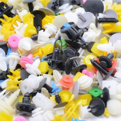 chốt vít nở vit Nhựa Loại 1 cho xe hơi ô tô ,túi 500 chốt các loại , part nội thất ô tô,