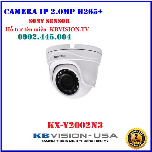 Camera IP 2.0Megapixel KBVISION KX-Y2002N3, Hỗ trợ tên miền  KBVISION.TV, Chip SONY SENSOR - 11430186 , 19547832 , 15_19547832 , 1590000 , Camera-IP-2.0Megapixel-KBVISION-KX-Y2002N3-Ho-tro-ten-mien-KBVISION.TV-Chip-SONY-SENSOR-15_19547832 , sendo.vn , Camera IP 2.0Megapixel KBVISION KX-Y2002N3, Hỗ trợ tên miền  KBVISION.TV, Chip SONY SENSOR