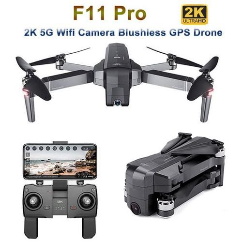 Flycam SJRC F11 PRO bản nâng cấp của SJRC F11 - Camera 2K - Bay 25 Phút - 2 GPS - Khoảng cách điều khiển 1.2KM - Động cơ không chổi than - 11342177 , 19550072 , 15_19550072 , 3350000 , Flycam-SJRC-F11-PRO-ban-nang-cap-cua-SJRC-F11-Camera-2K-Bay-25-Phut-2-GPS-Khoang-cach-dieu-khien-1.2KM-Dong-co-khong-choi-than-15_19550072 , sendo.vn , Flycam SJRC F11 PRO bản nâng cấp của SJRC F11 - Came