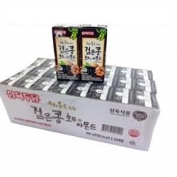 Thùng 24 hộp Sữa Óc Chó Hạnh Nhân Đậu Đen Hàn Quốc 24x190ml