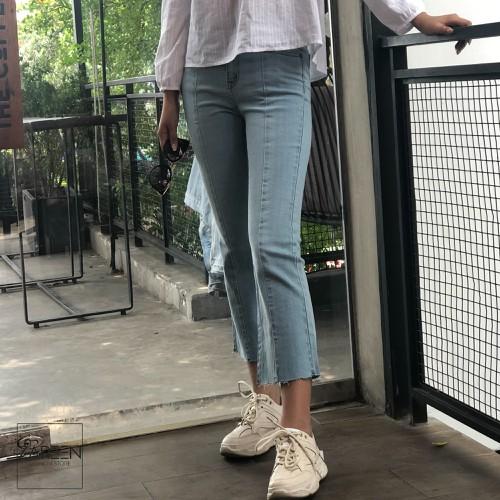 Quần jeans ống loe kẻ sọc jea25 sbu - 11970756 , 19554957 , 15_19554957 , 289000 , Quan-jeans-ong-loe-ke-soc-jea25-sbu-15_19554957 , sendo.vn , Quần jeans ống loe kẻ sọc jea25 sbu